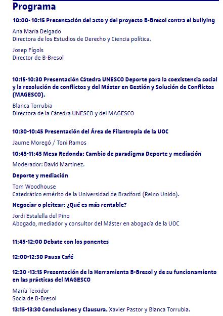 Programa 3 oct UOC